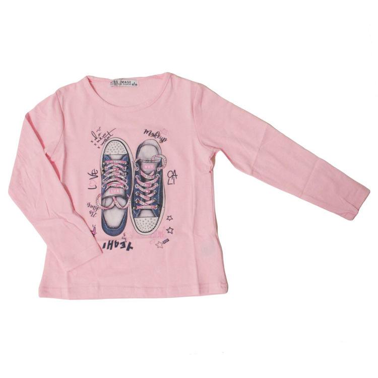 Immagine di T-Shirt m/l bambina Miss Image Art. LF1241