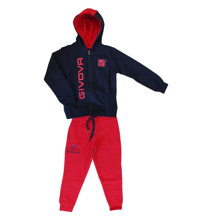 newest 0f4fd 83801 Tuta Ragazza Givova Art. 7445T0005T. ingrosso abbigliamento ...