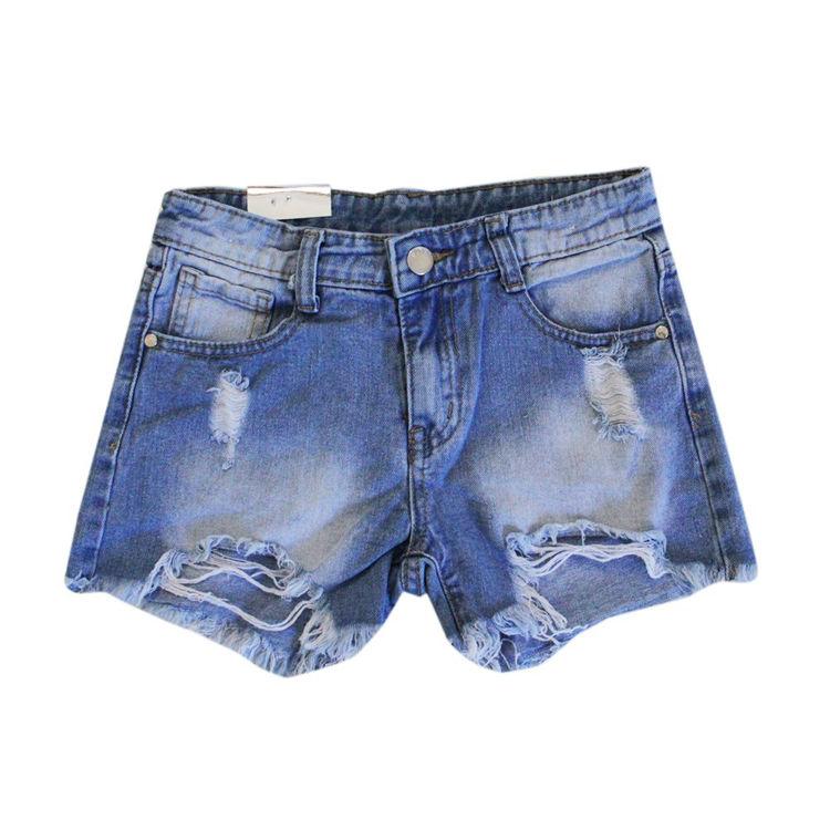 Immagine di Short jeans ragazza Miss & Girl Art. 7703