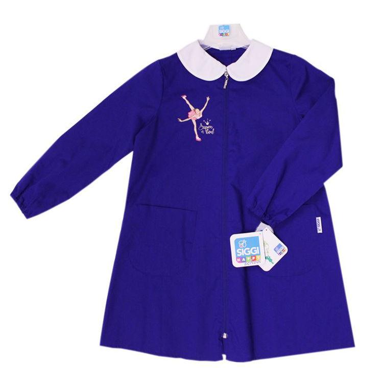 Immagine di Grembiule scuola Bluette bambina Siggi Art. 3295