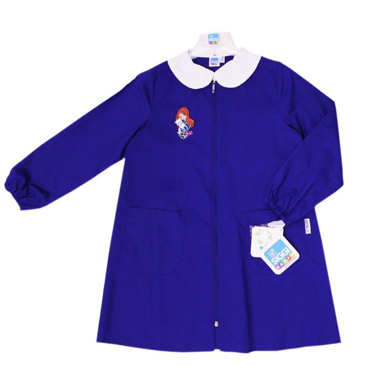 Immagine di Grembiule scuola Bluette bambina Siggi Art. 3293