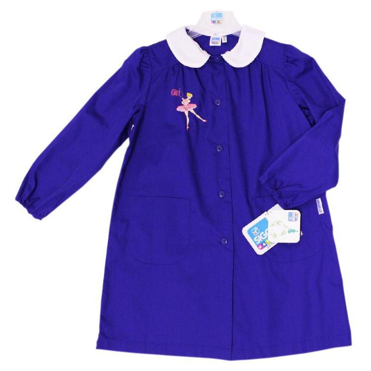 Immagine di Grembiule scuola Bluette bambina Siggi Art. 3292