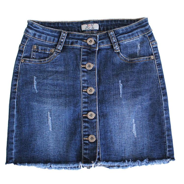 Immagine di Gonna jeans bambina Joy Art. 6391A