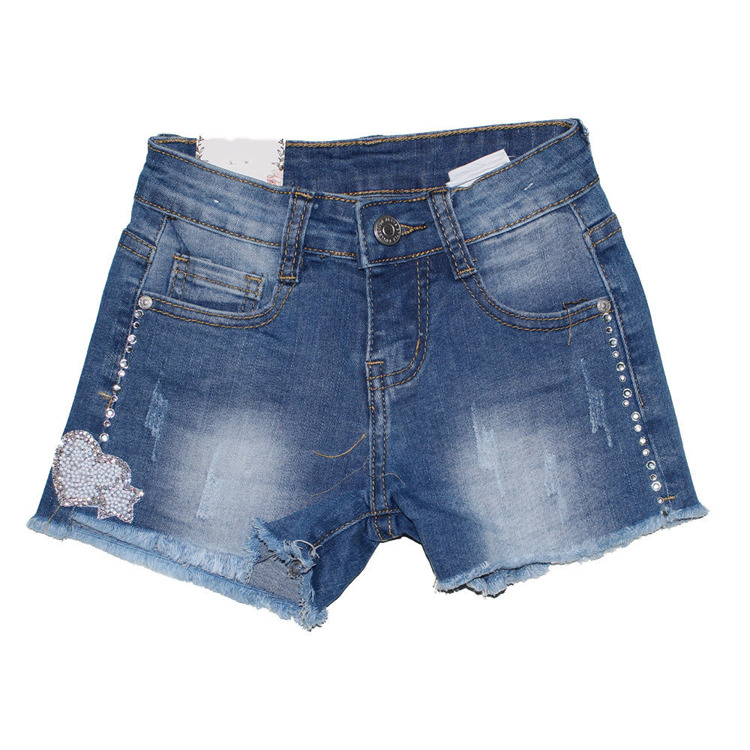Immagine di Short jeans bambina Angel Kids Art. 7811
