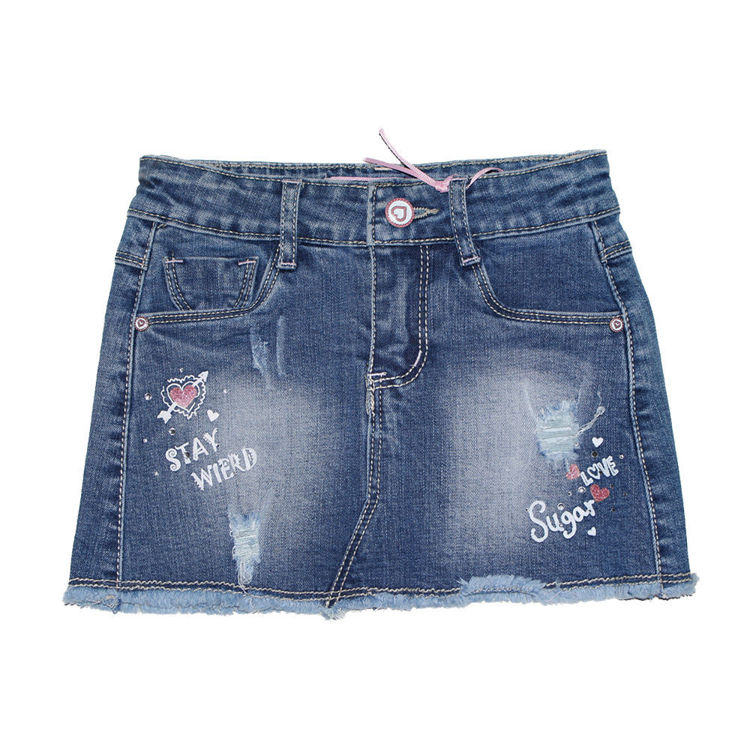 Immagine di Gonna Jeans neonata Miss Bellina Art. ZNA2071