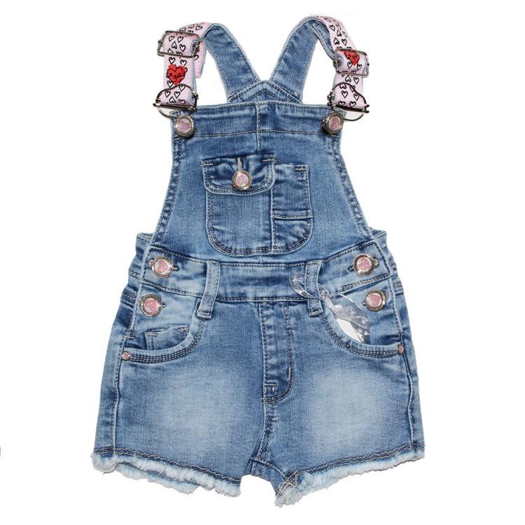 Immagine di Saloppette jeans neonata primavera Lollitop Art. S2406