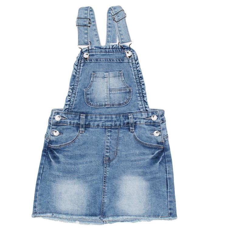 Immagine di Scamiciato jeans bambina primavera Lollitop Art. R2376