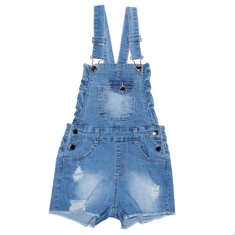 Immagine di Salopette jeans bambina primavera Lollitop Art. R2378
