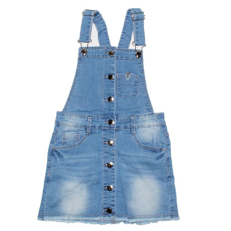 Immagine di Scamiciato jeans bambina primavera Lollitop Art. R2377