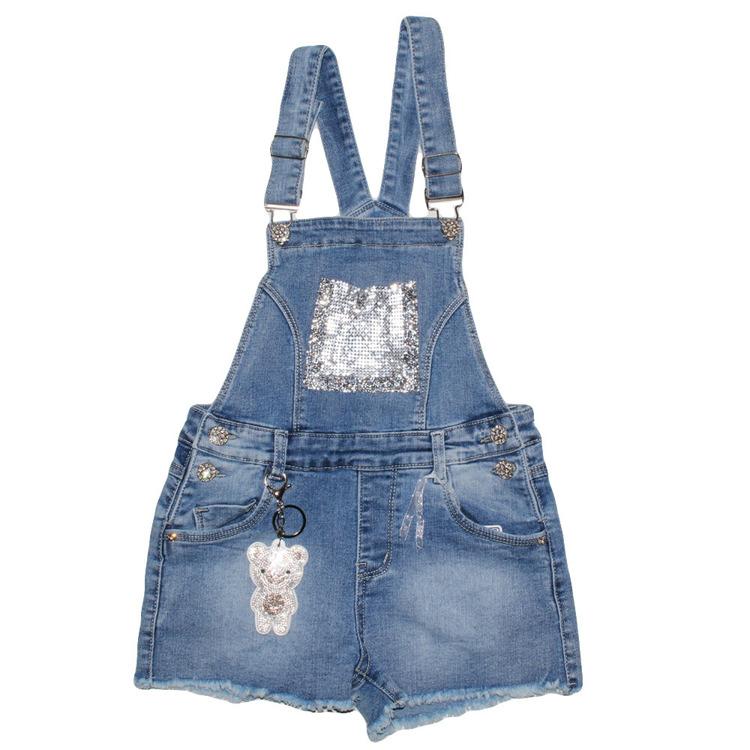 Immagine di Salopette jeans ragazza primavera Lollitop Art. S2410