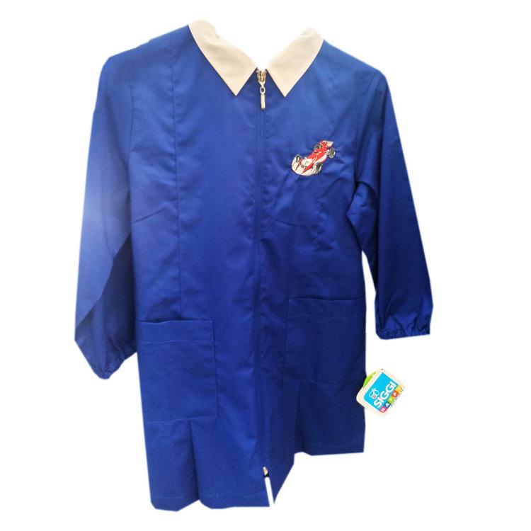 Immagine di Grembiule scuola Bluette zip bambino Siggi Art. 3497