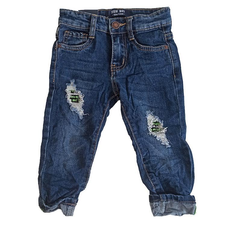 Immagine di Jeans neonato autunno Run Boy Art. GB531