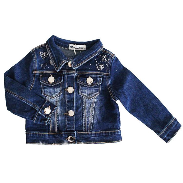 Immagine di Giubbino Jeans neonata autunno Miss Bellina Art. ZNA2023