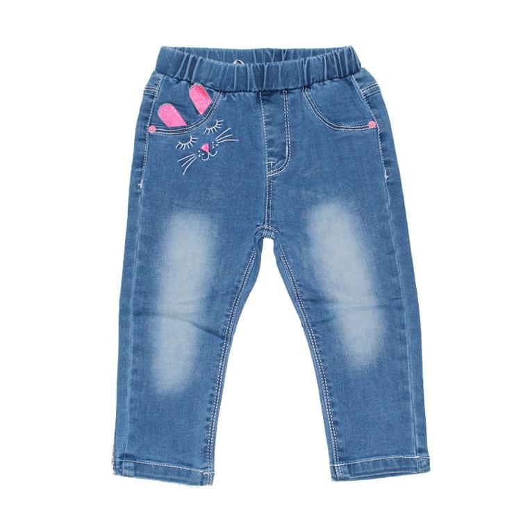 Immagine di Jeans neonata primavera Smile Yes Art. PNA3004
