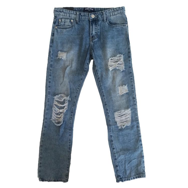 Immagine di Jeans ragazzo primavera Bimbo Style Art. GB455