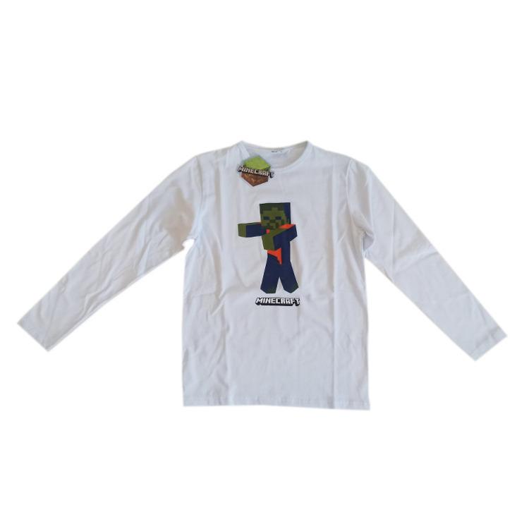 Immagine di T-shirt m/l primavera ragazzo Minecraft Art. 59007L