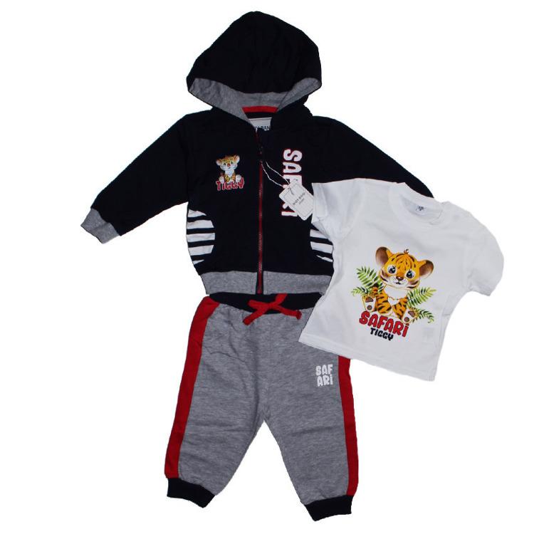 Immagine di Coordinato neonato primavera Baby Band Art. CAG7307