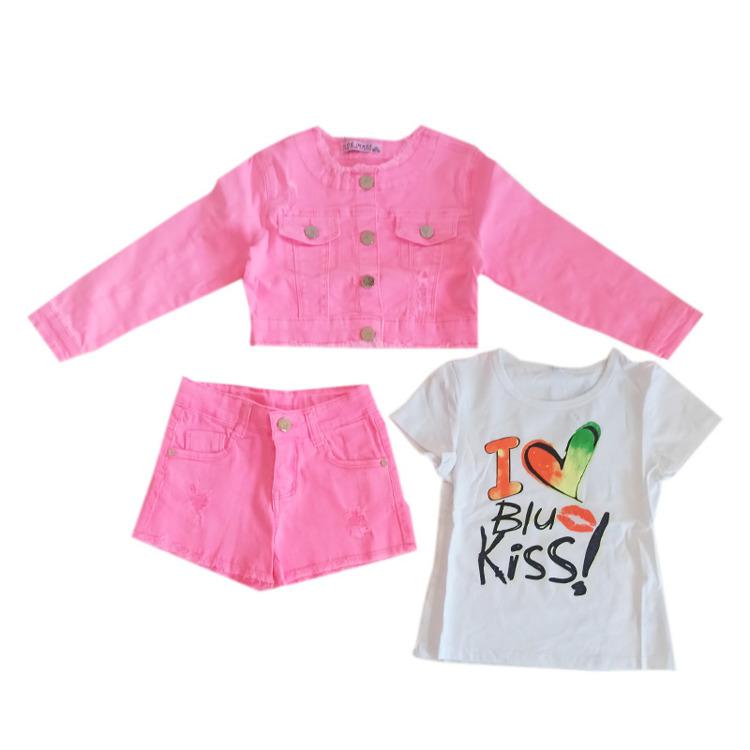 Immagine di Completo bambina primavera Miss Image Art. LF6420