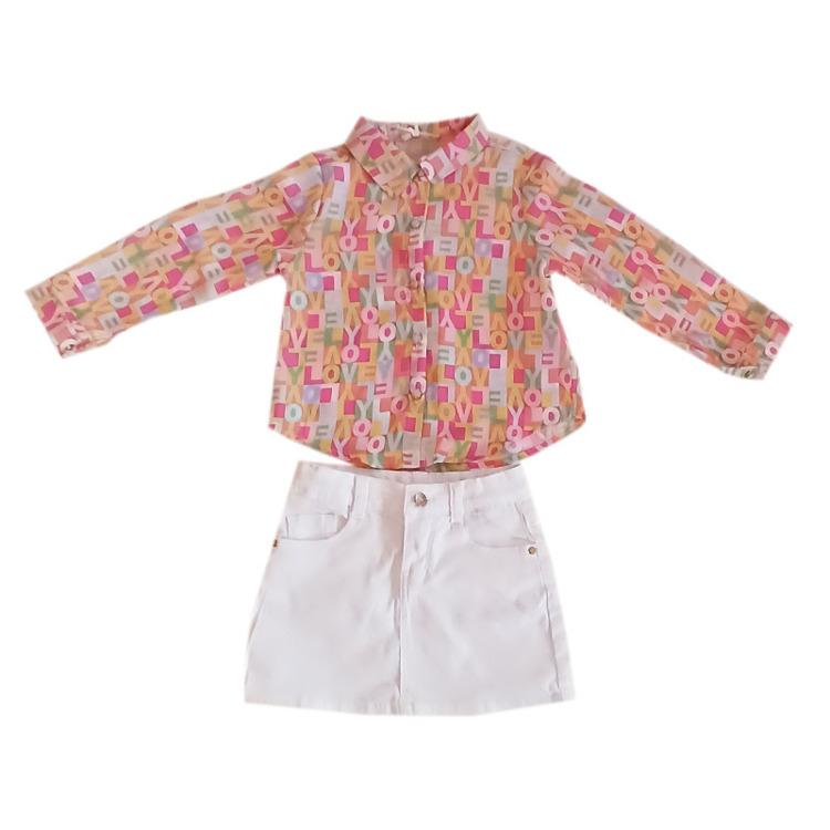 Immagine di Completo bambina primavera Gossyp Art. GOB9165