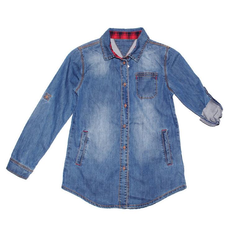 Immagine di Camicia jeans bambino primavera Ativo Art. L3817