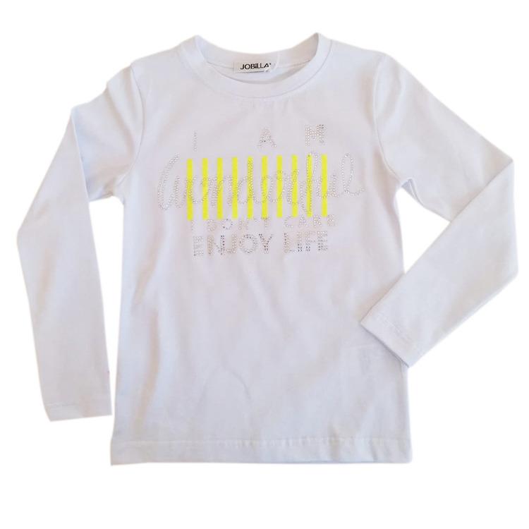 Immagine di T-shirt m/l bambina primavera Jobilla Art. J0417B