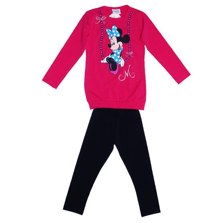 Immagine di Completo bambina primavera Disney Art. 59467