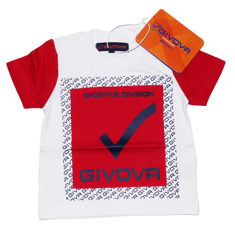 Immagine di T-shirt neonato estate Givova Art. 7476M0046