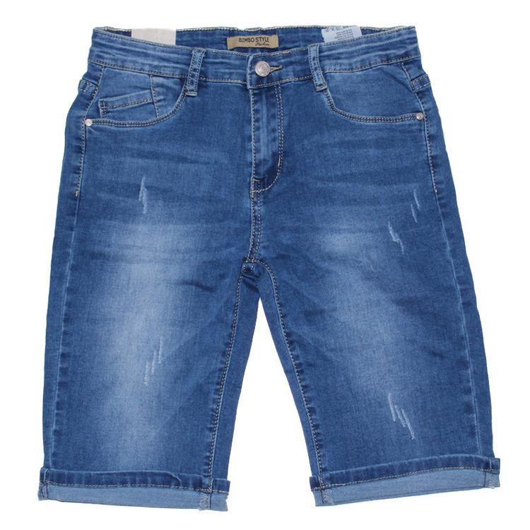 Immagine di Bermuda jeans ragazzo Bimbo Style Art. DF918