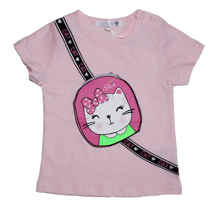 Immagine di T-Shirt m/m estate neonata Lollitop Art. B2660