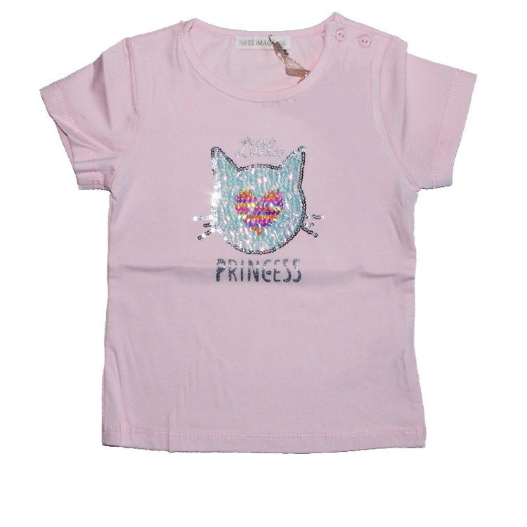 Immagine di T-Shirt m/m estate neonata Miss Image Art. LF1607
