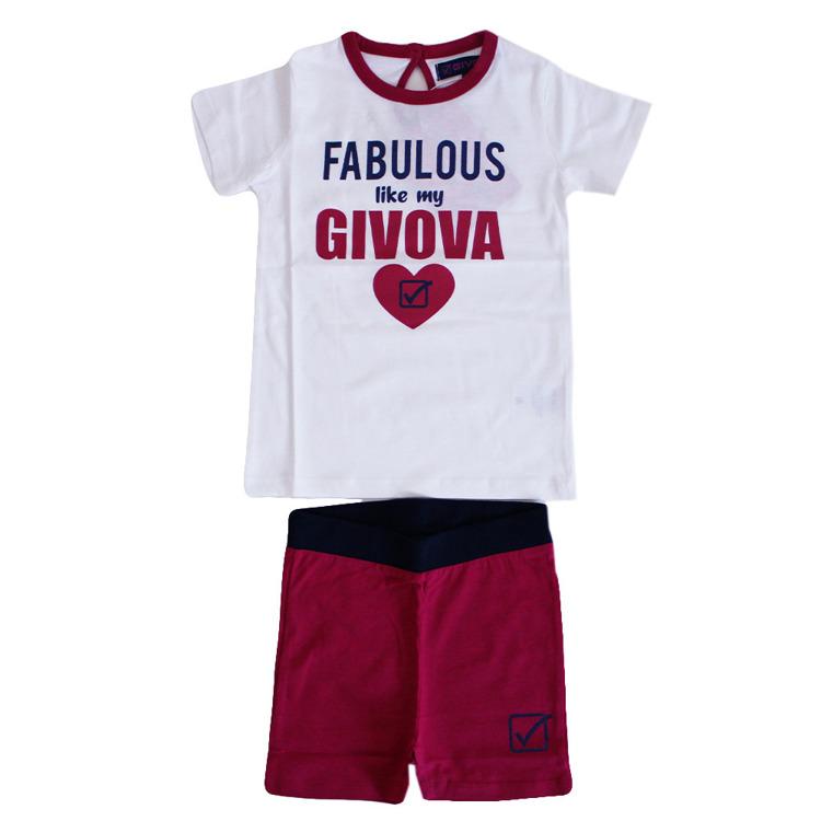 Immagine di Completo estate neonata Givova Art. 7486K0017