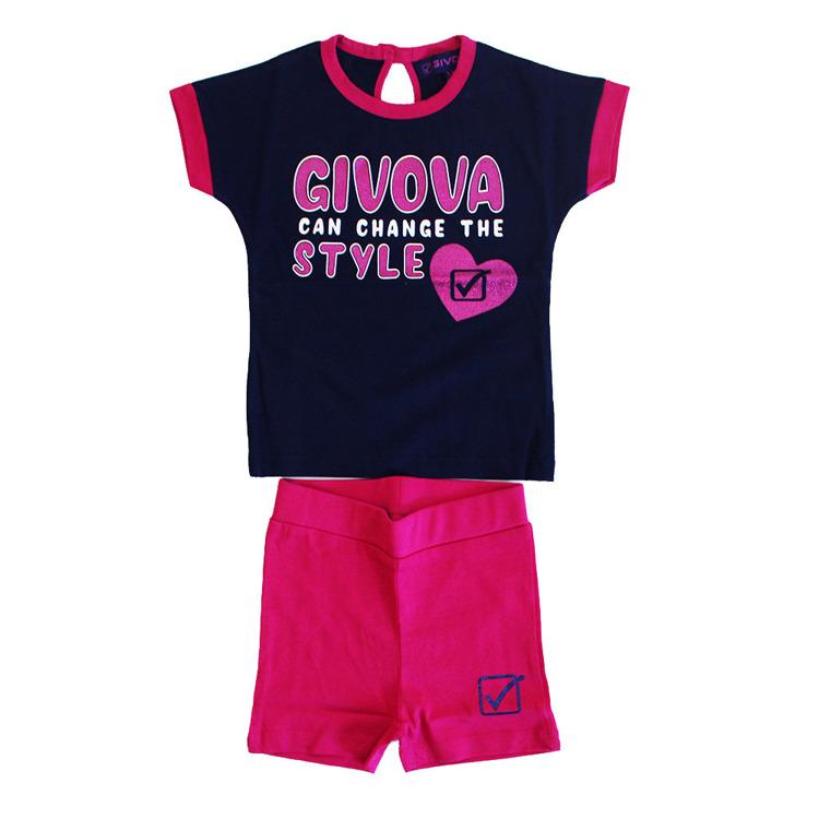 Immagine di Completo estate neonata Givova Art. 7486K0021