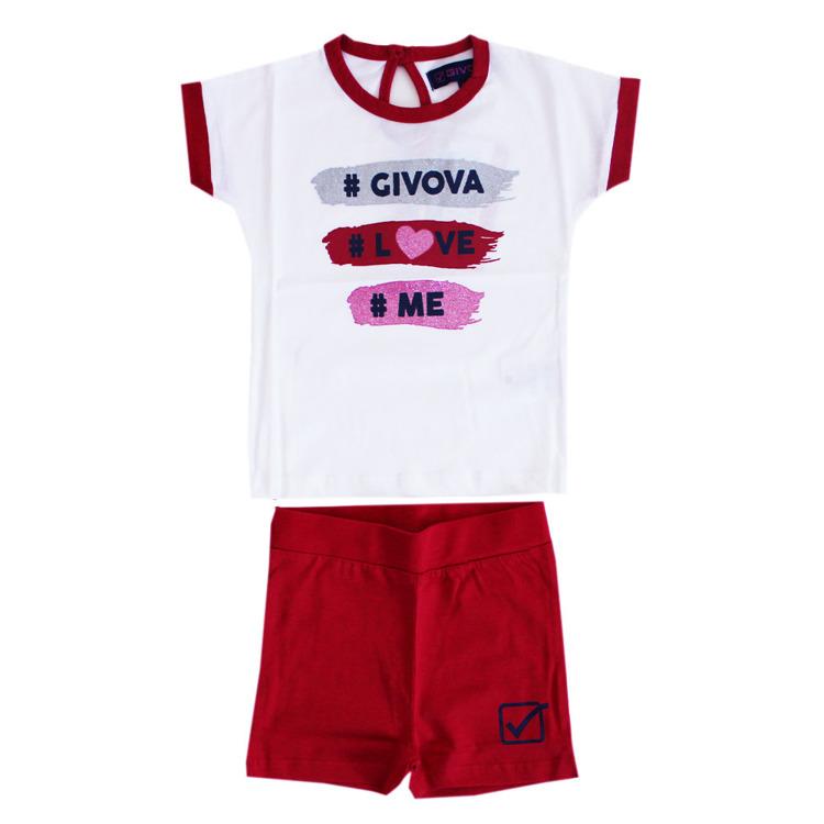 Immagine di Completo estate neonata Givova Art. 7486K0022