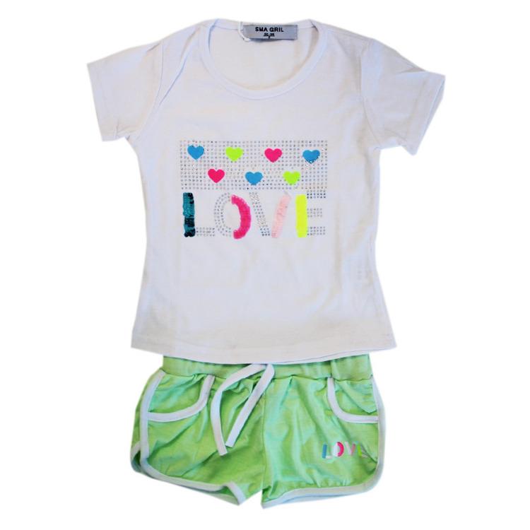 Immagine di Completo estate neonata Sma Girl Art. AH81632