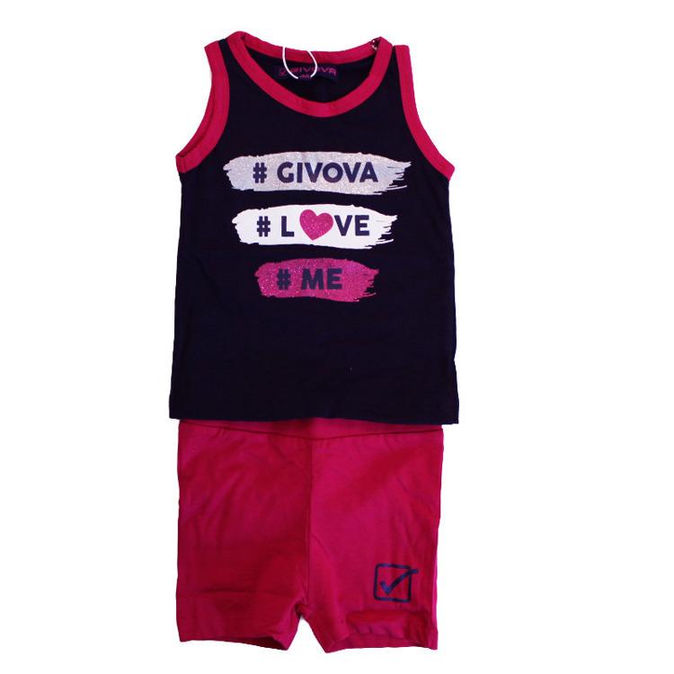 Immagine di Completo estate neonata Givova Art. 7486K0028