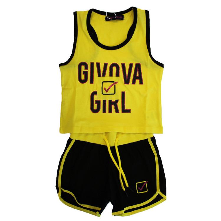 Immagine di Completo estate bambina Givova Art. 7466K0027
