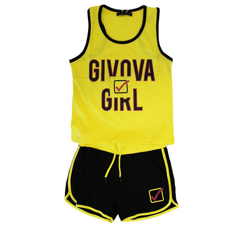 Immagine di Completo estate ragazza Givova Art. 7446K0027