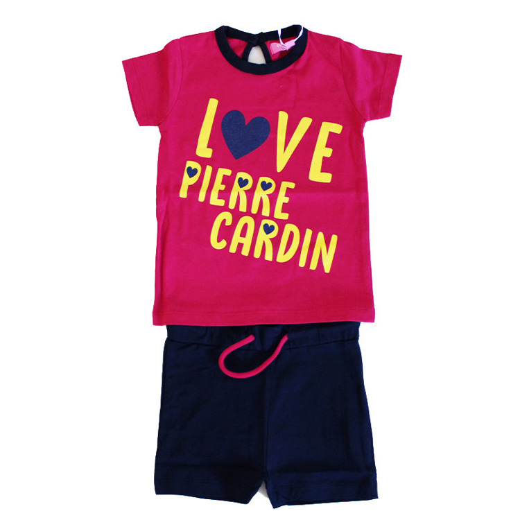Immagine di Completo neonata estate Pierre Cardin Art. 7086K0057