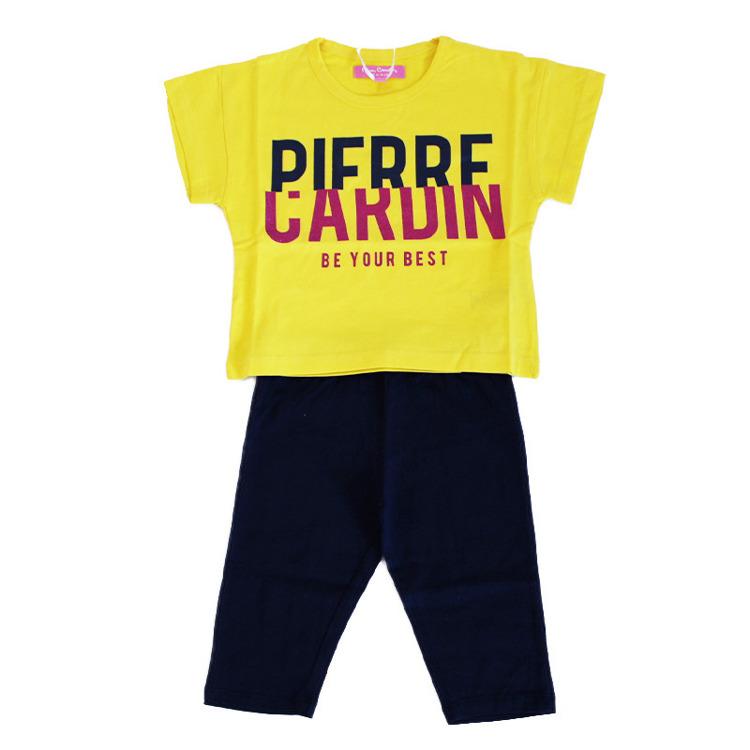 Immagine di Completo bambina estate Pierre Cardin Art. 7066K0054
