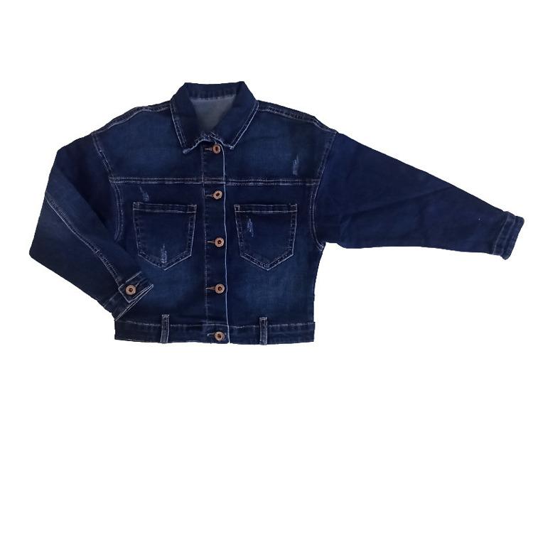 Immagine di Giubbino jeans bambina autunno Joy Art. 6452