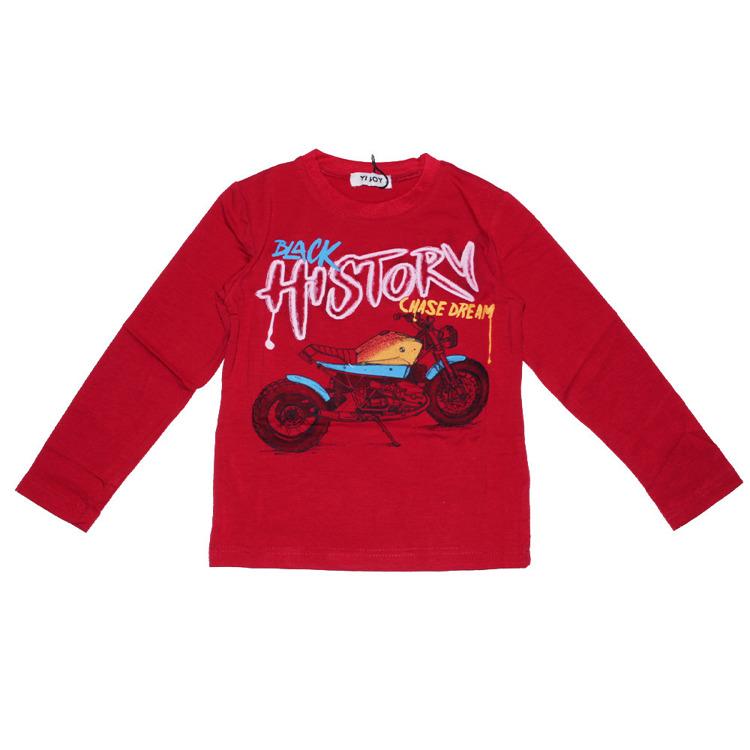 Immagine di T-shirt m/l  bambino autunno Yi Boy Art. YL011