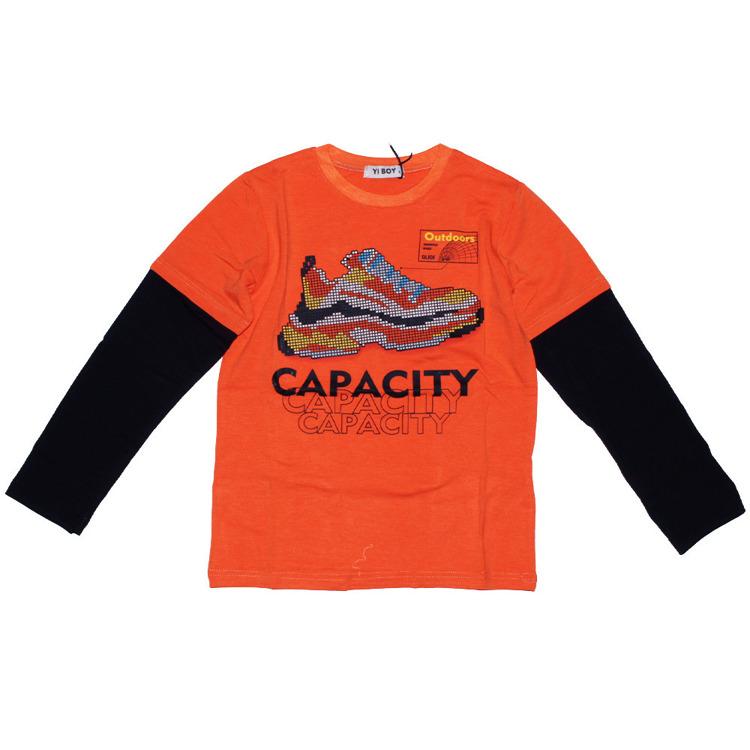 Immagine di T-shirt m/l  ragazzo autunno Yi Boy Art. YL005