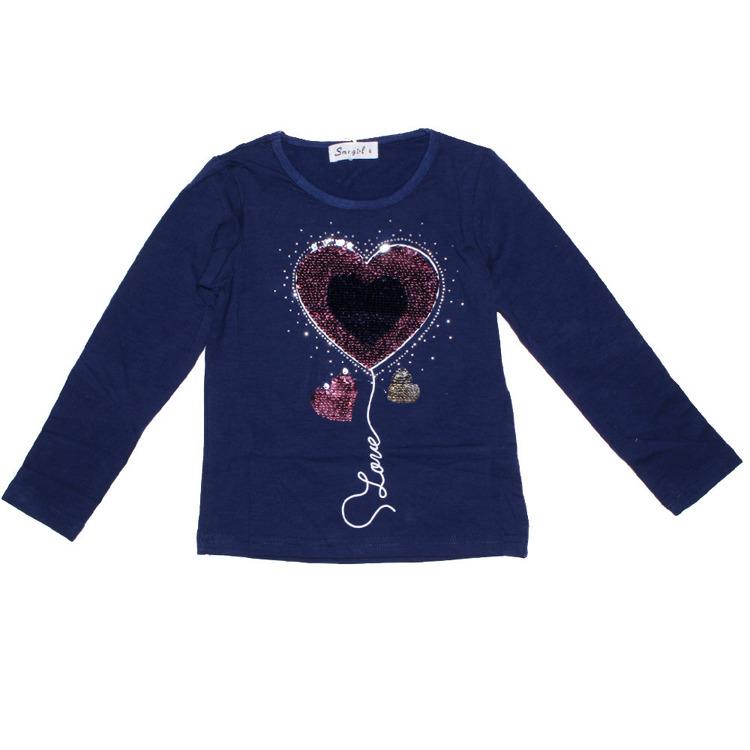 Immagine di T-shirt m/l  bambina autunno Sma Girl Art. YL024