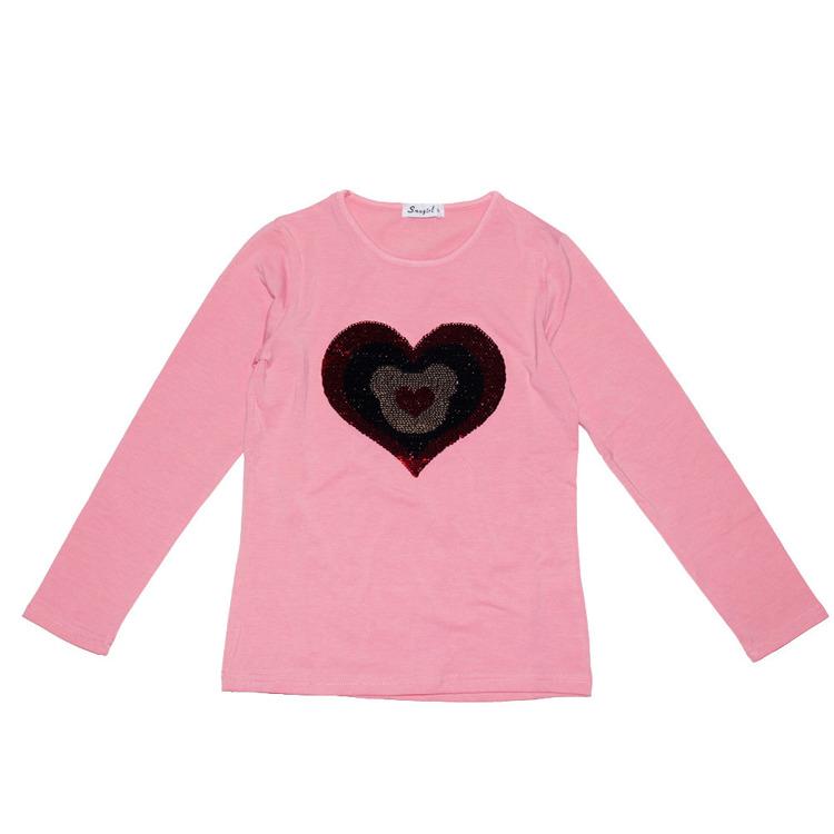 Immagine di T-shirt m/l  ragazza autunno Sma Girl Art. YL022